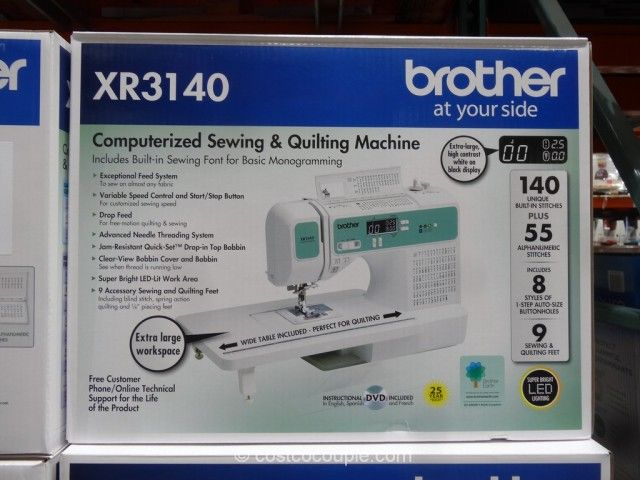 Brother Xr3140 Computerized Sewing Machine Craft Room Sewing