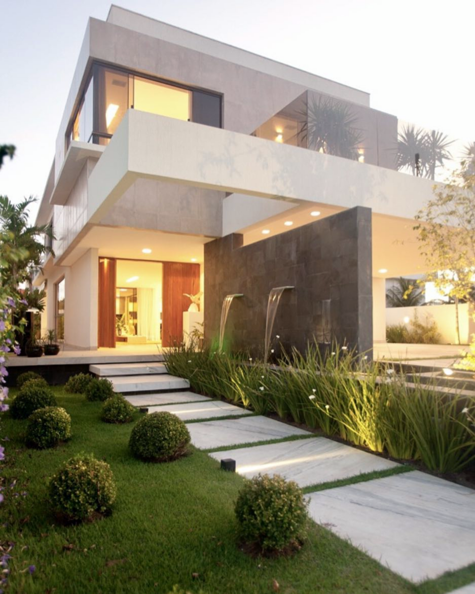 Pin de Bele en House 2 | Pinterest | Fachadas, Casas y Casas modernas