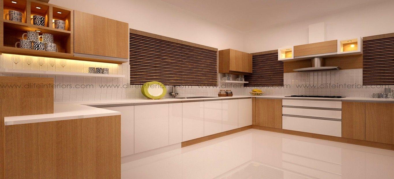 Best Khaki L Shape Kitchen With Images L Shaped Modular 400 x 300