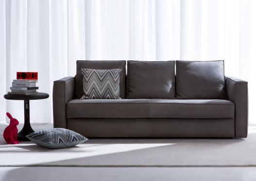 Robinson Leather Sofa Bed Non Solo Divani Leather Sofa
