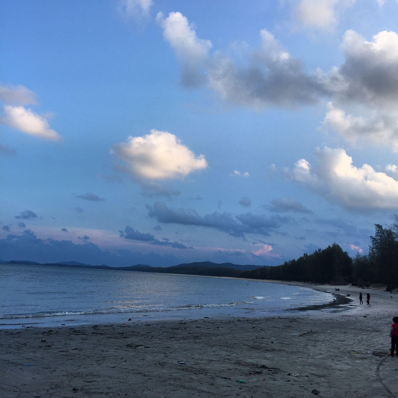 Malaysia Beaches: Pantai Kerteh Terengganu Malaysia