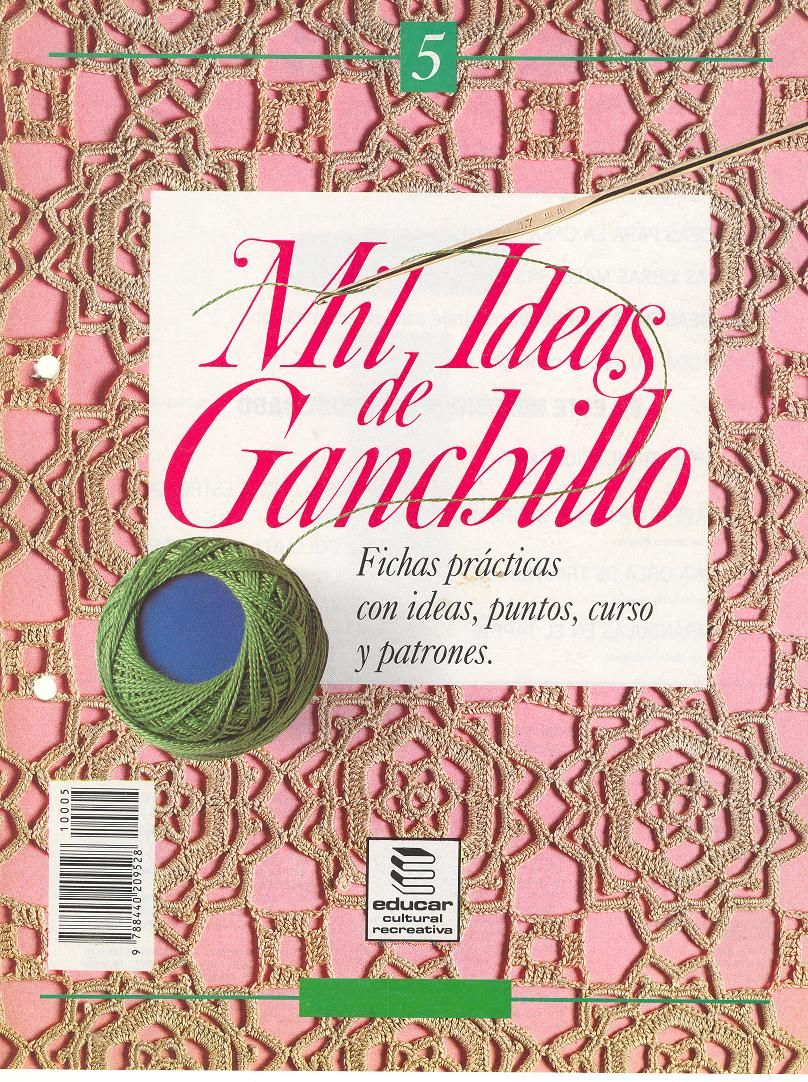 Revistas de Crochet Ideas de Ganchillo - Patrones Crochet | tejido ...