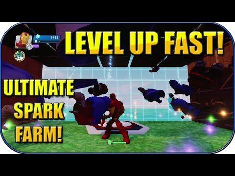 Disney Infinity 2.0 - ULTIMATE AFK SPARK FARM! - LEVEL UP FAST! - Disney Infinity Tricks - YouTube