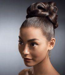 Remarkable 1000 Images About Wedding Hair Styles On Pinterest Buns Bridal Bun Short Hairstyles For Black Women Fulllsitofus