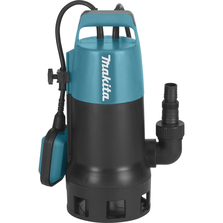 Pompe D Evacuation Pour Eaux Chargees Makita Pf1010 14400 L H 1100 W Pompe Immergee Pompe Submersible Reservoir De Stockage