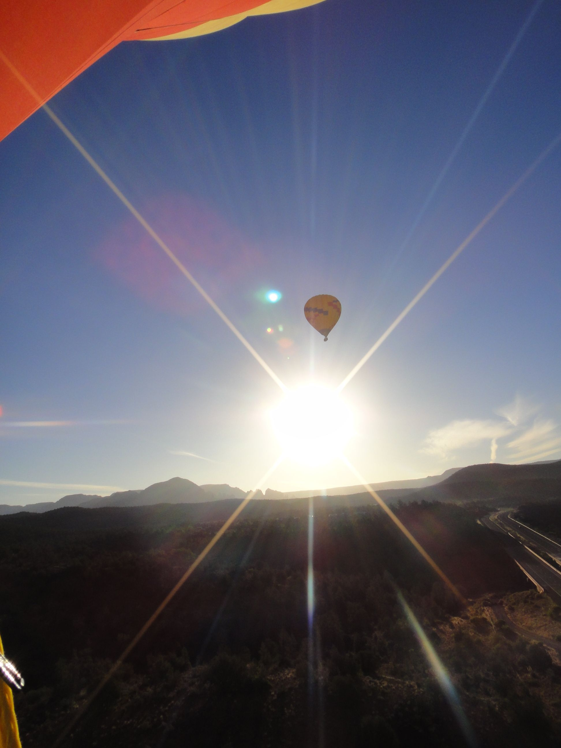 Hot air ballooning in Sedona, Arizona (With images) Air