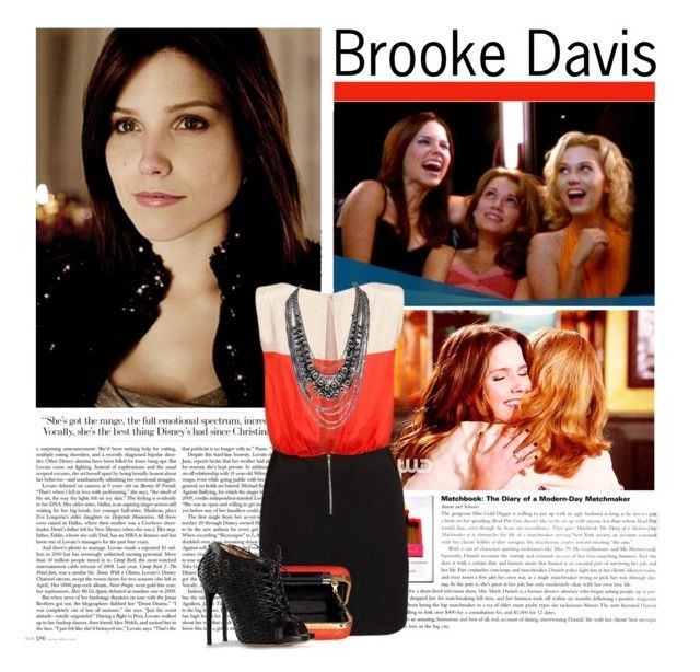 Brooke Davis by coco92 on Polyvore featuring Ichi, Tabitha Simmons, Diane Von Furstenberg, brooke davis and oth