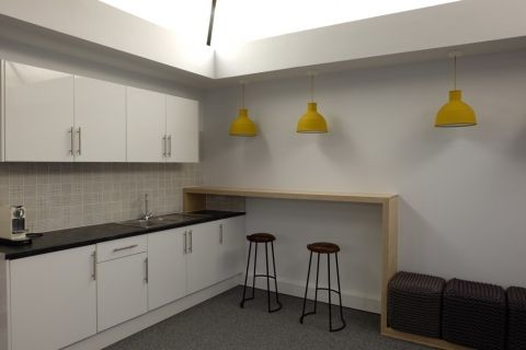 Practical Ideas For A Small Office Kitchen Break Room Design