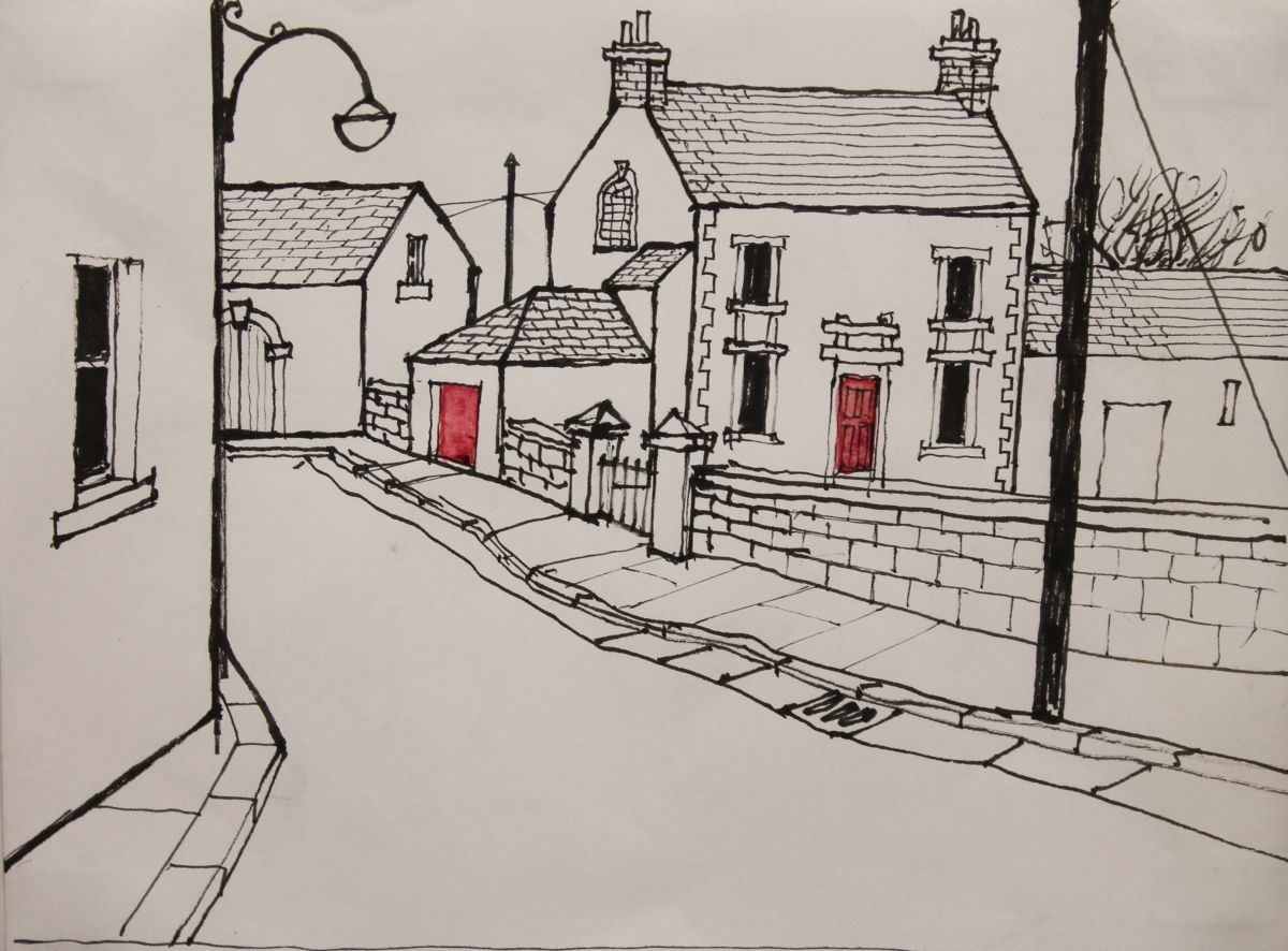 Red Door by Percy Kelly  sc 1 st  Pinterest & Red Door by Percy Kelly   Percy Kelly   Pinterest   Paintings ... pezcame.com