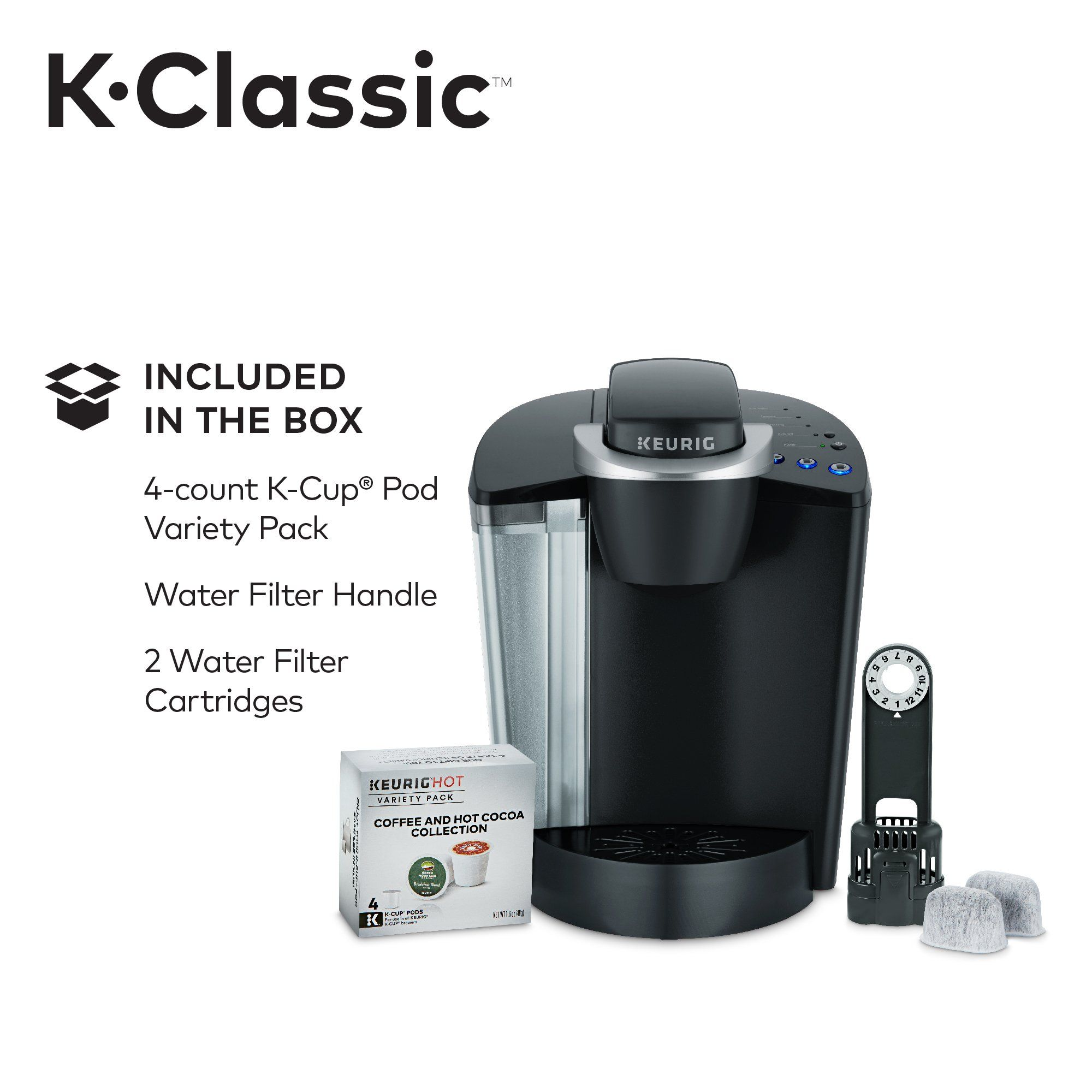 Keurig K55/KClassic Coffee Maker KCup Pod Single Serve