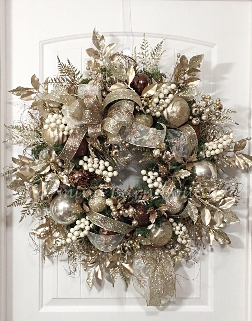 Christmas Wreath Extra Large Wreath Winter Wreath