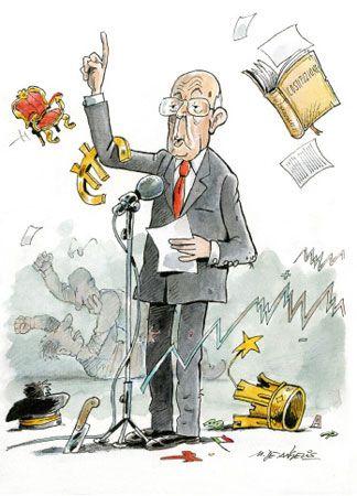 Napolitano, un settennato in satira