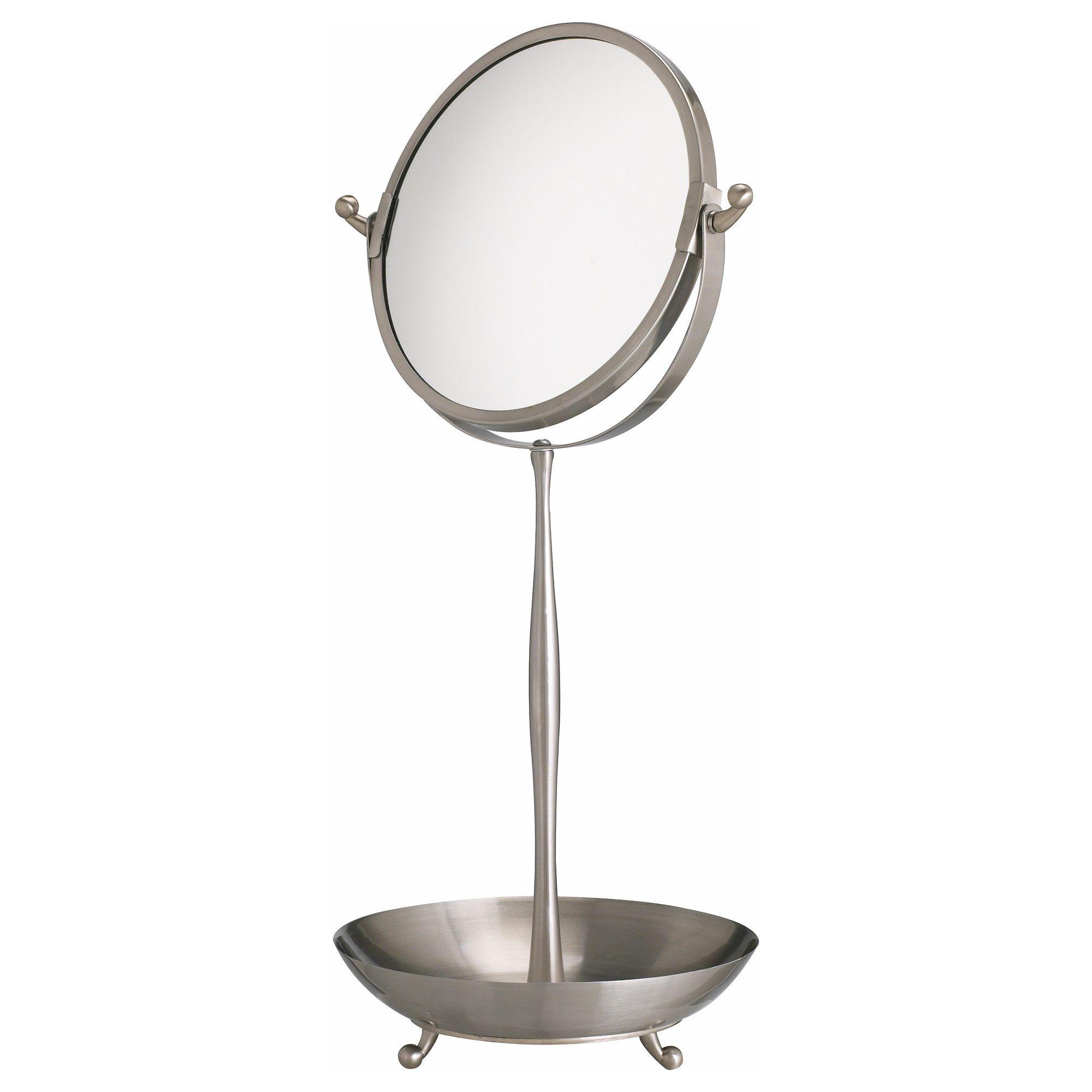 LILLHOLMEN Espejo para tocador Una cara con vidrio espejado de ...