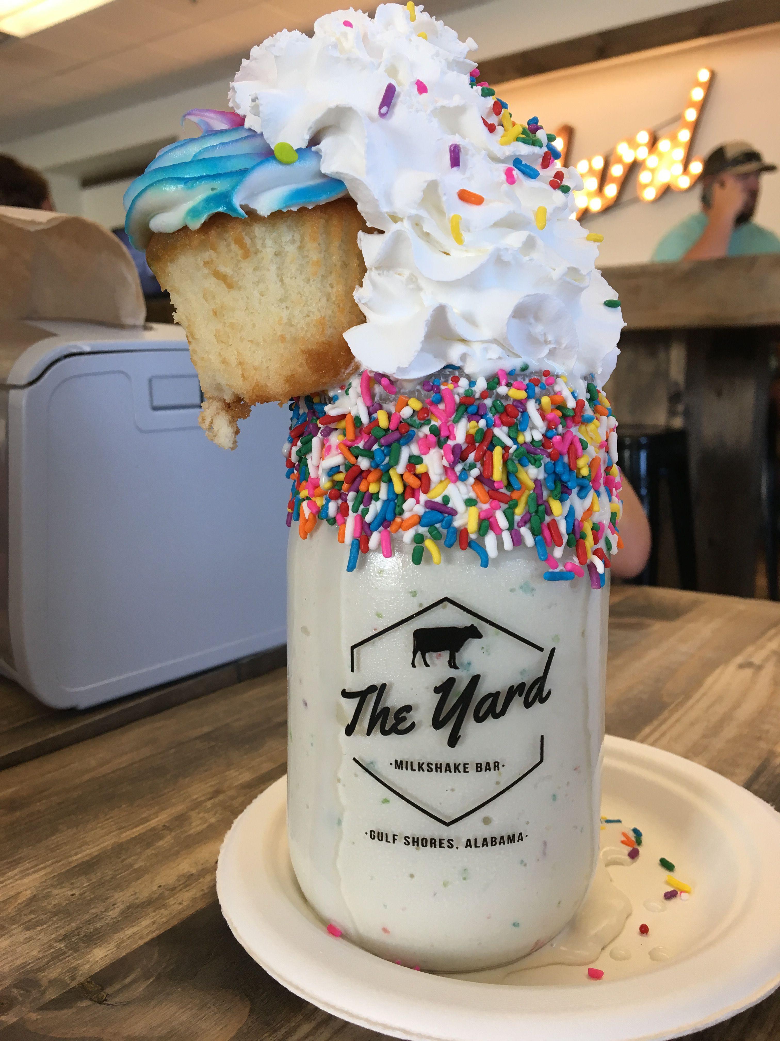 The Yard Milkshake Bar Gulf Shores Al Food Drinks Dessert Yummy Food Dessert Fun Desserts