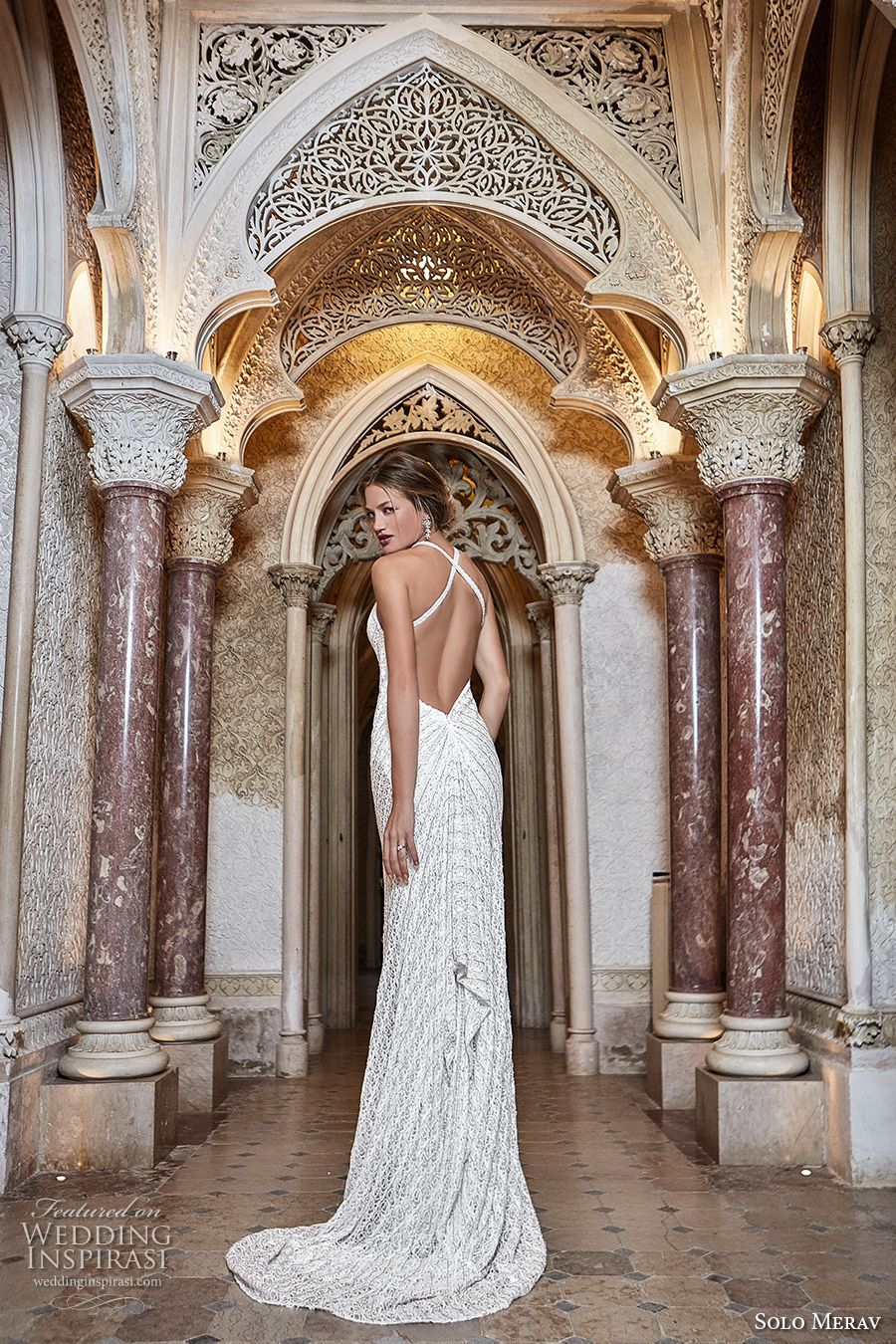 "Solo Merav 2017 Wedding Dresses — ""Games of Lace"" Bridal Collection ..."