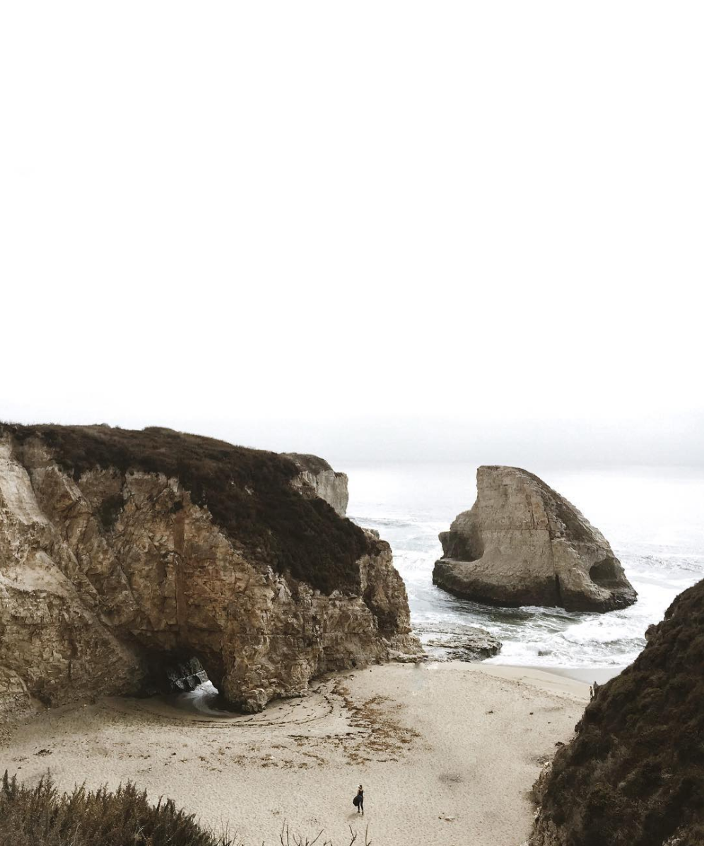 shark fin cove california // anne sage