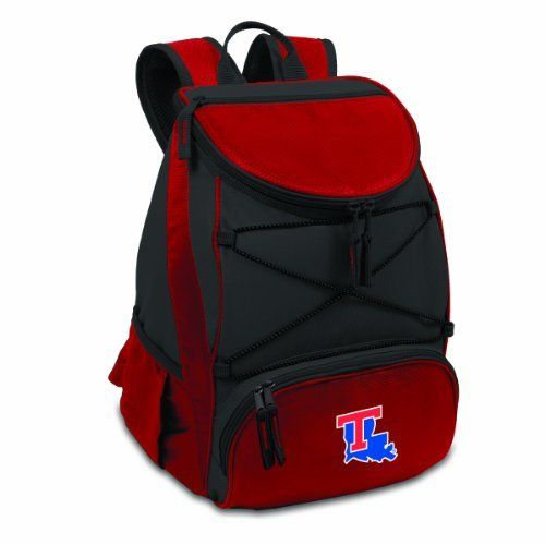 NCAA Louisiana Tech Bulldogs PTX Insulated Backpack Cooler, Red, Regular by Picnic Time. NCAA Louisiana Tech Bulldogs PTX Insulated Backpack Cooler, Red, Regular. Regular.
