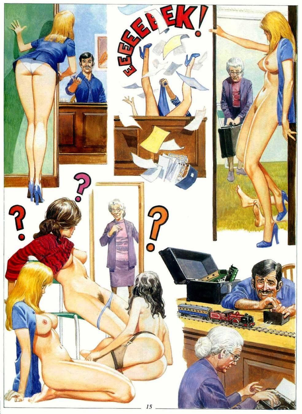 Adult comic books the secretary photo 876