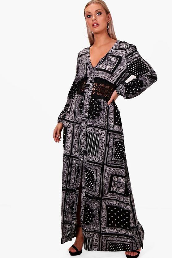 Curvy Fashion boho dress
