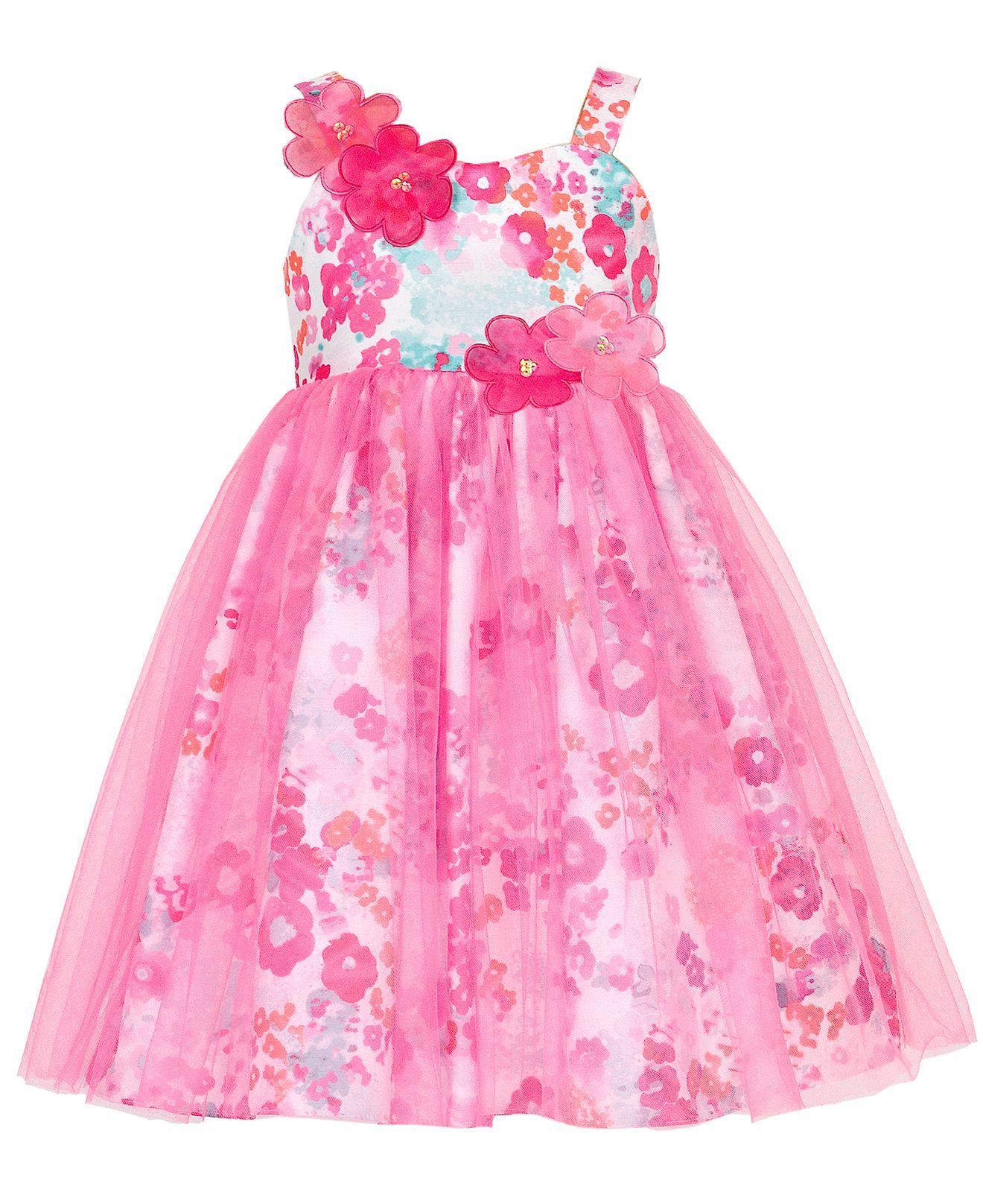 Rare Editions Girls Dress Little Girls Floral Shantung Party Dress Kids Toddler Girls 2t 5t Macys Rare Editions Girls Dresses Floral Party Dress Dresses [ 1616 x 1320 Pixel ]