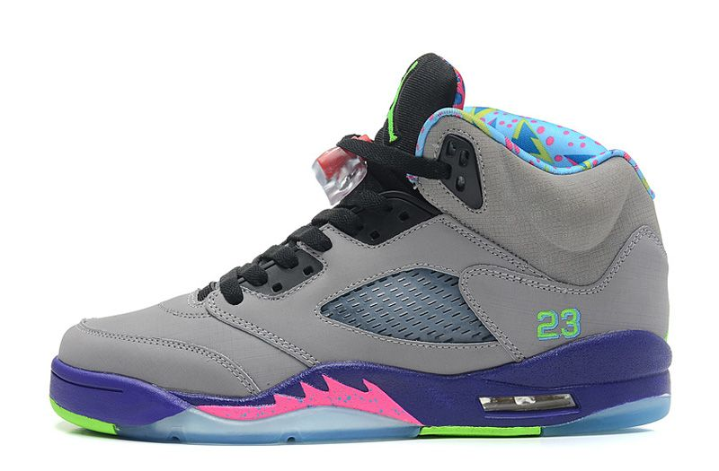 Air Jordan 5 Retro Bel-Air Cool Grey/Club Pink-Court Purple-