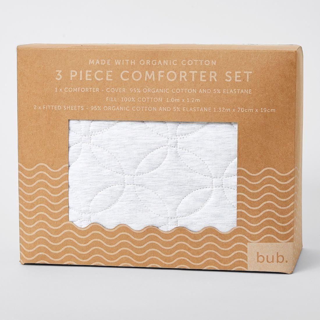 Baby Organic Cotton 3 Piece Comforter Set Comforter sets