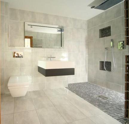 beautiful grey tones in this wetroom /bathroom | shower
