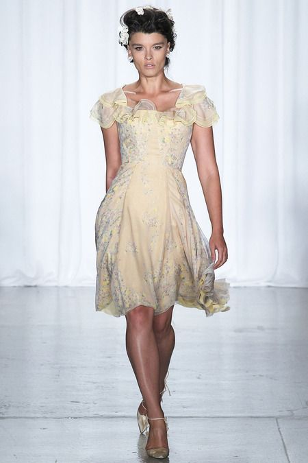 Zac Posen   Spring 2014 Ready-to-Wear Collection   Style.com