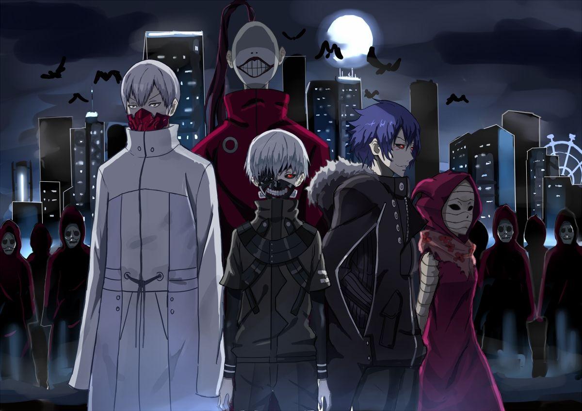 ANIME.KUzora 7 Ghoul Terkuat di Tokyo ghoul s1s2