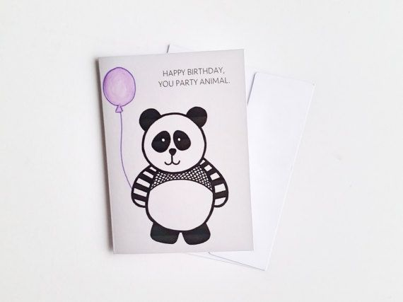 Funny panda birthday card happy birthday you by aspaperdesigns funny panda birthday card happy birthday you by aspaperdesigns bookmarktalkfo Image collections