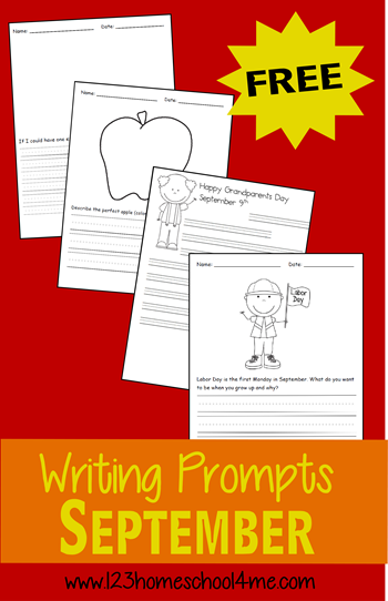 free september writing prompts writing prompts prompts