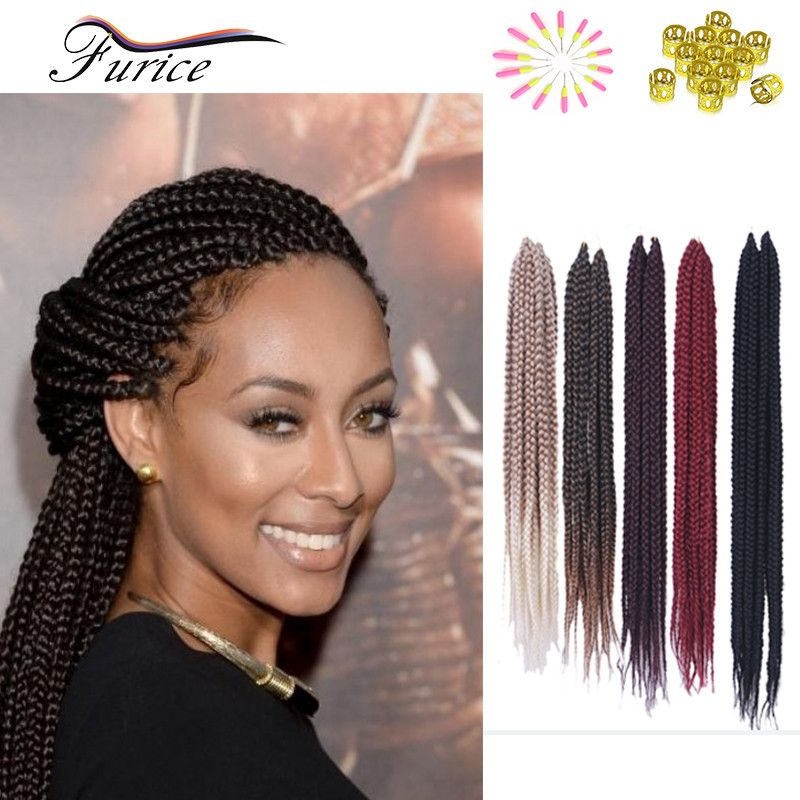 18 Inch 24 Inch Ombre Crochet Senegalese Twists Hair Extension