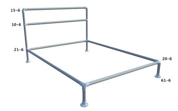 Pin On Pipe Beds Furniture