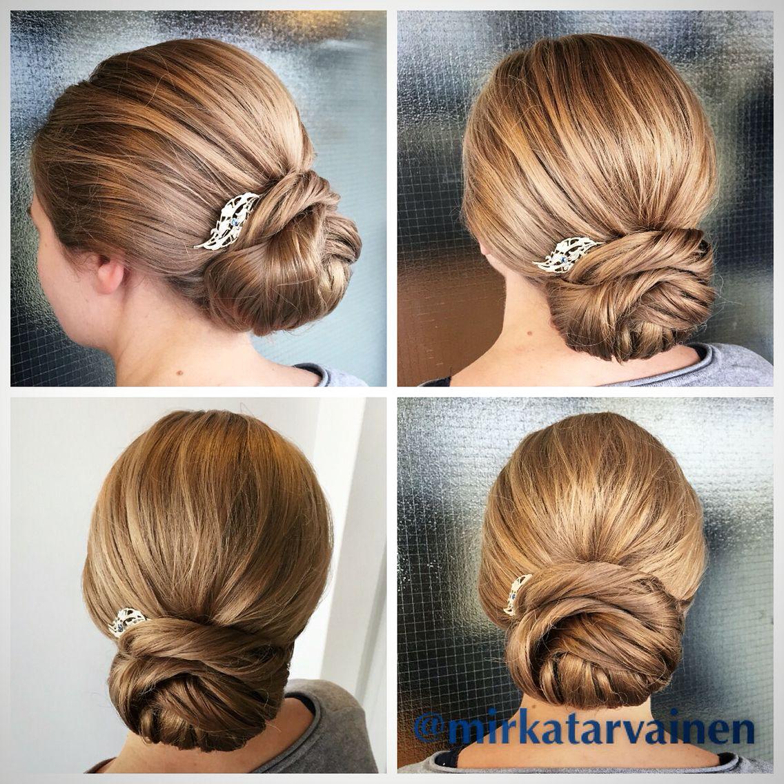 Morsiuskampaus - bridal hairstyle #nutturakampaus #hääkampaus #morsiuskampaus #bridalhair
