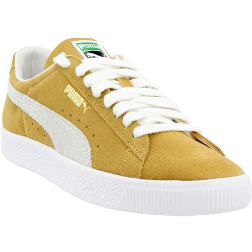 Puma Suede 90681, Yellow   Products in 2019   Sneakers, Puma