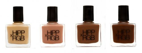 Though our beat is fashion,  HIPPxRGB—a collaboration between the stylist Jenna Hipp and the up-and-coming nailpolish brand—making nude polishes that are, well, actual nude polishes.