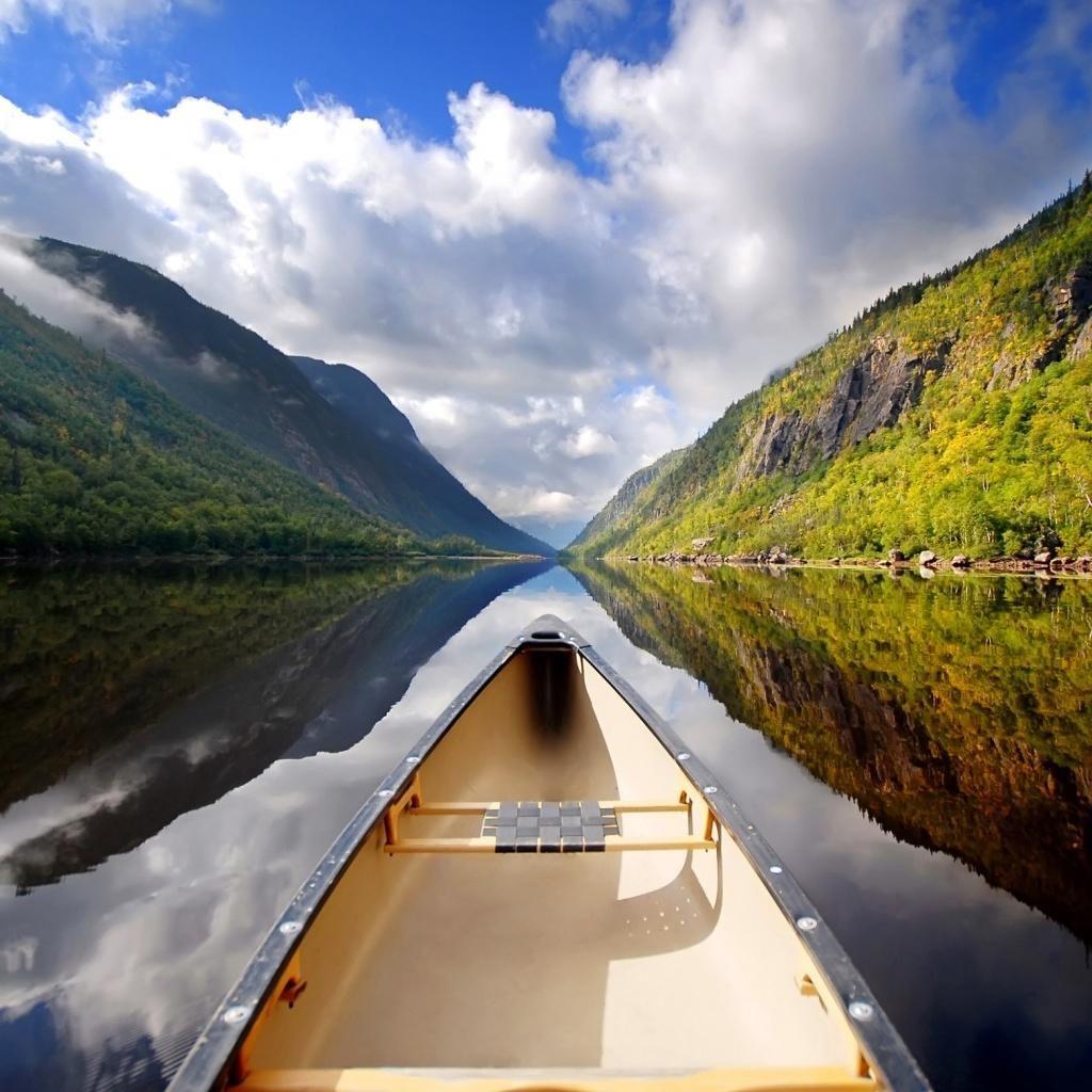Canoe IPad Wallpaper