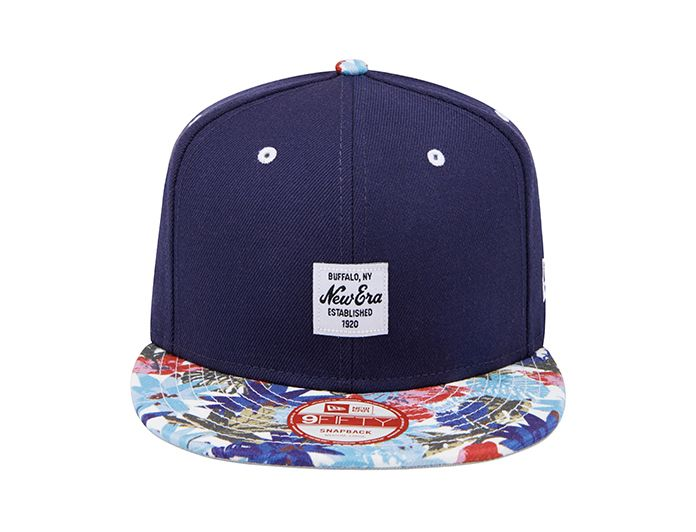 Patch Tropical Navy-Multi 9Fifty Snapback Cap by NEW ERA