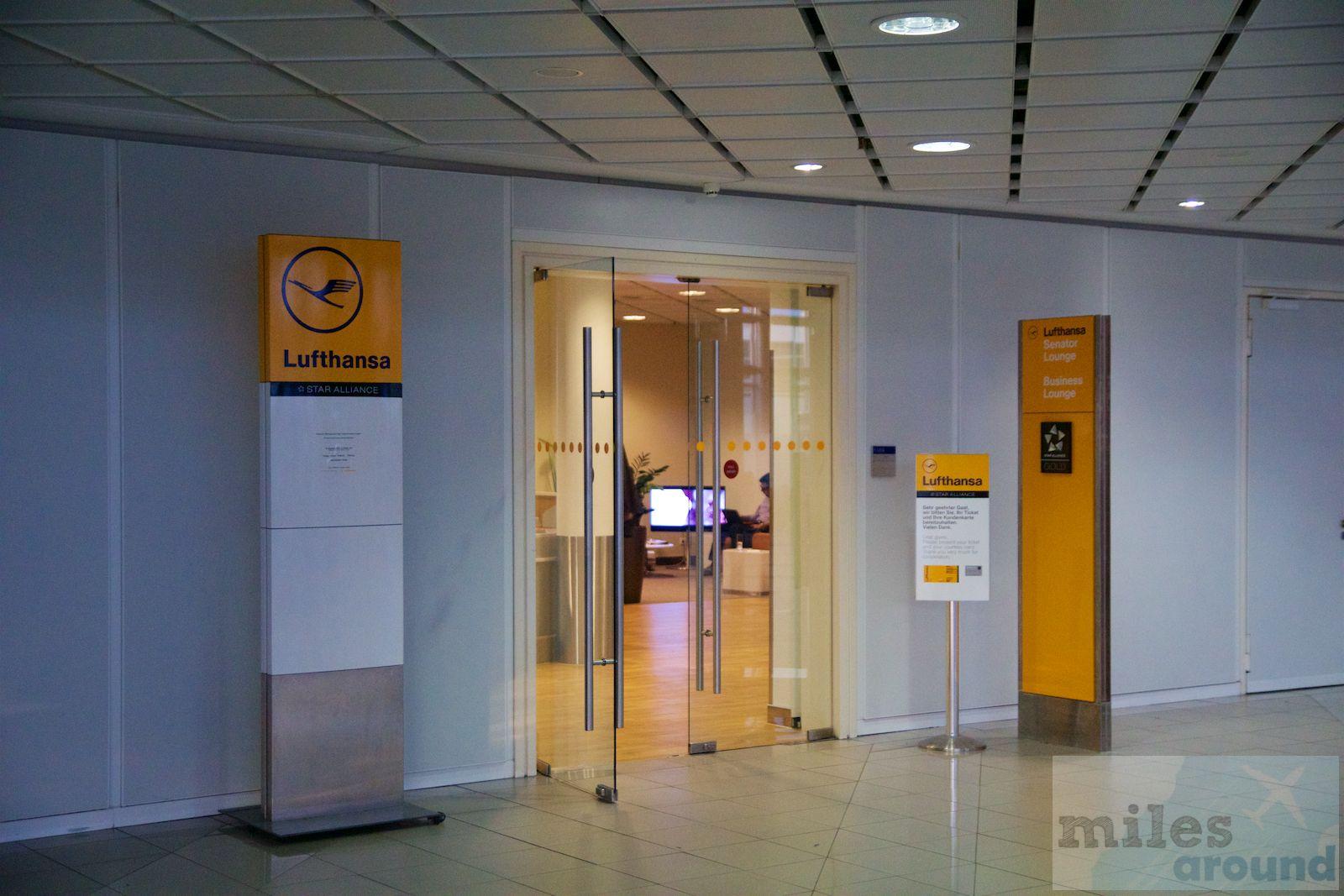 Lufthansa Senator Lounge am Flughafen Leipzig/Halle