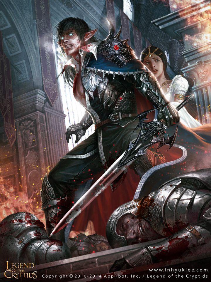 Amore insanguinato: (vampiri) scarta 2 pozioni, se non hai 2 pozioni da scartare salti il prossimo turno.