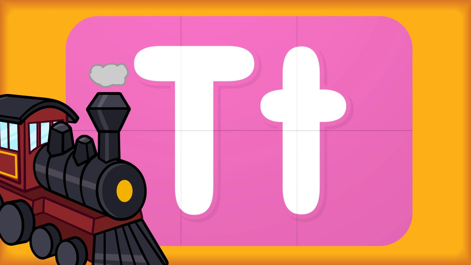Learn Letter T | Turn & Learn ABCs | Alphabet Video | Alphabet turn ...