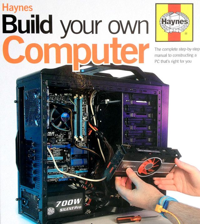 Haynes Build Your Own Computer Book Review Computer Build Build Your Own Computer Computer Maintenance