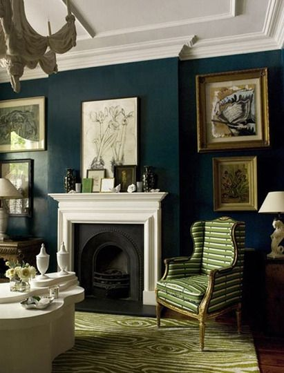 Teal room on pinterest 35 pins Sophisticated paint colors for living room
