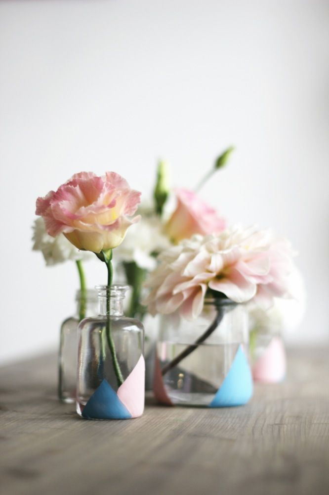 Diy jolis vases gomtriques crazy girls and weddings diy jolis vases gomtriques solutioingenieria Image collections