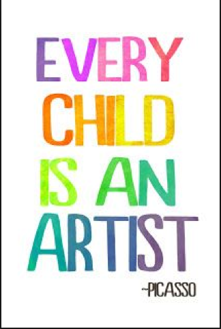 Keep Your Inner Child-Artist Alive and well!