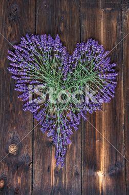 #Lavender #Heart On Dark #Wooden #Background @iStock #istock #ktr14 #love @carinzia #flowerpower #nature #austria #carinthia #download #hires #photo #new #portfolio