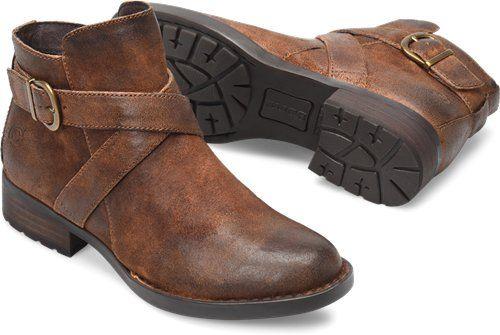 1b9855eb3536 Born Trinculo in Rust Distressed - Born Womens Boots on Bornshoes ...