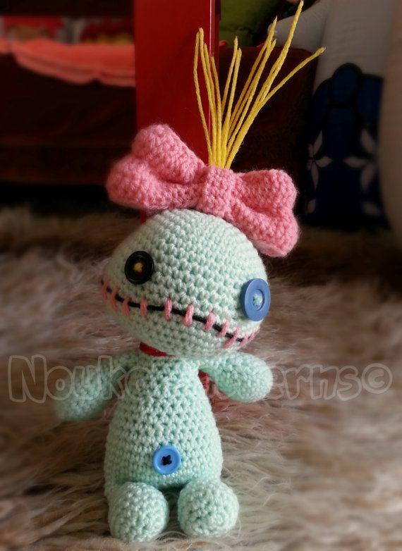 Scrump la muñeca vudú Lilo y puntada Crochet por NoukoPatterns ...