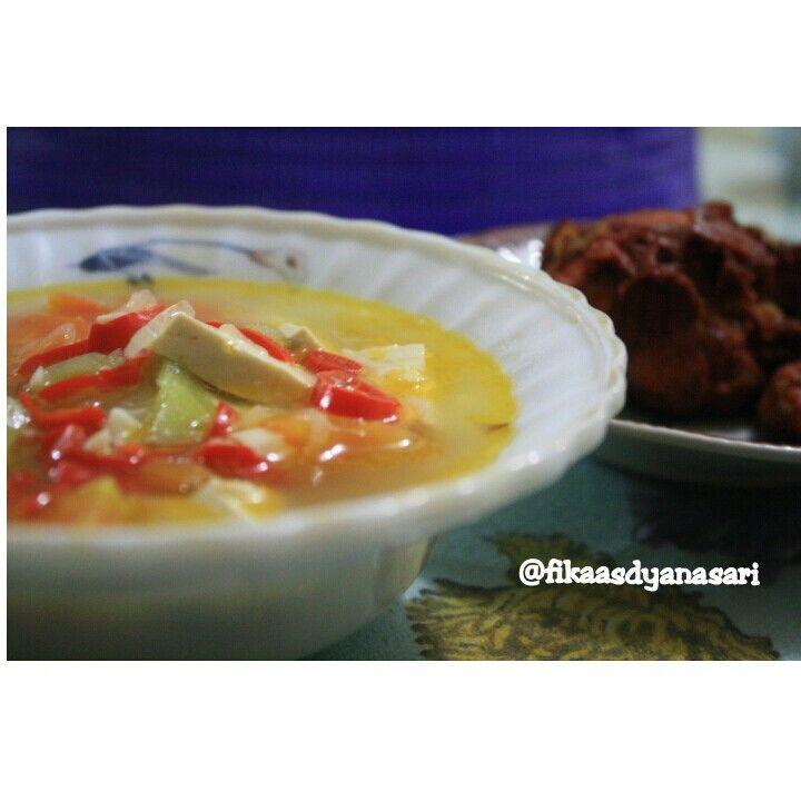 Sup Oyong Tahu Wortel Indonesianfood Wortel Tahu Sup
