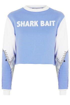 7a0d1eb35c Shark Bait Sweatshirt By Tee and Cake | Stuff to Buy | Pinterest ...